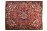 9x12 Vintage Heriz Carpet // ONH Item mc001221