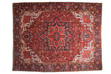 11x14.5 Vintage Ahar Carpet // ONH Item mc001224