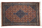 6.5x10 Vintage Ardebil Carpet // ONH Item mc001293