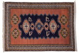 7.5x10.5 Vintage Ardebil Carpet // ONH Item mc001301
