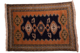 7.5x10.5 Vintage Ardebil Carpet // ONH Item mc001302