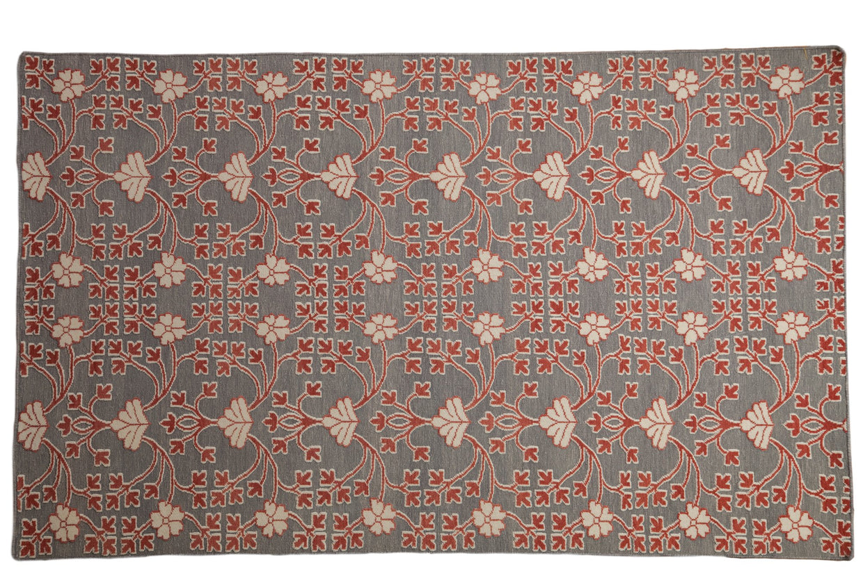 5x8 New Indian Samarkand Design Carpet // ONH Item mc001376