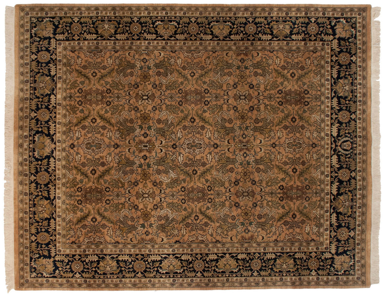 8x10 Vintage Indian Heriz Design Carpet // ONH Item mc001594