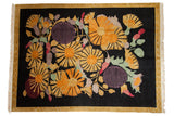 8.5x12 Vintage Indian Art Deco Carpet // ONH Item mc001739
