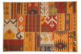 4x6 New Patchwork Kilim Rug // ONH Item mc001740