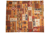 8x10 New Patchwork Kilim Carpet // ONH Item mc001741