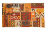 3x5 New Patchwork Kilim Rug // ONH Item mc001744