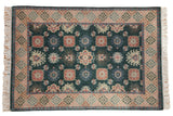 4x6 Vintage Indian Arts And Crafts Design Rug // ONH Item mc001889