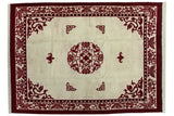 10x14 Vintage Indian Peking Design Carpet // ONH Item mc001901