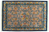 10x14 Vintage Indian Arts And Crafts Design Carpet // ONH Item mc001904