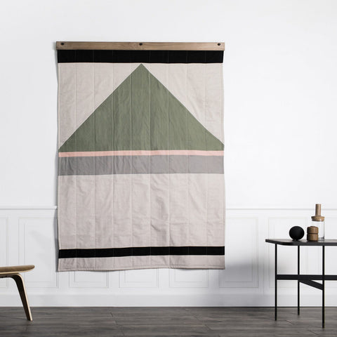 Made in USA Louise Gray Quilt No. 8