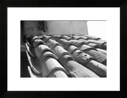 Florence Italy Rooftop Original Photograph - Old New House