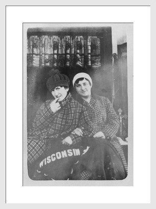 Antique Experimental Photograph Revival, Wisconsin Smiles - Old New House