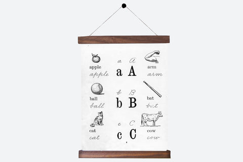 ABC Antique Alphabet Pull Down Revival - Old New House