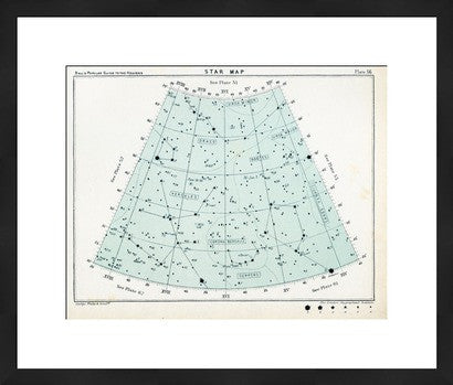 Antique Star Map Revival - Old New House
