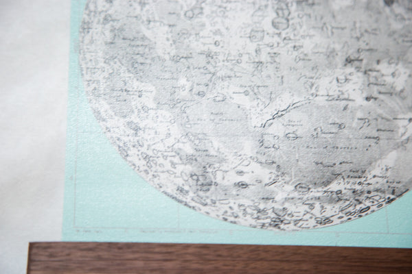Antique Moon Chart Pull Down Revival in Mint - Old New House