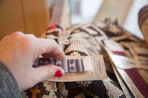 Bokhara Rug Bookmark