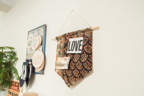RUGLING 03 : Limited Edition Rug Cork Board Flag