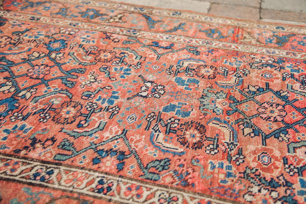 4x6 Shabby Tribal Antique Persian Rug