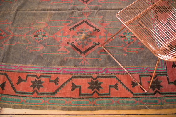 6x8 Vintage Kilim Carpet - Old New House