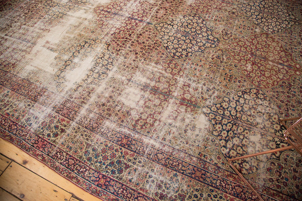 Antique Kerman Panel Carpet