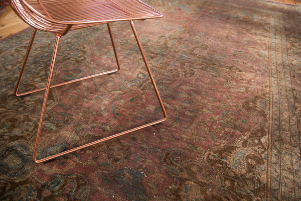 7x12.5 Vintage Meshed Carpet - Old New House