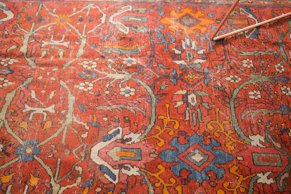 8.5x12.5 Vintage Persian Mahal Carpet - Old New House