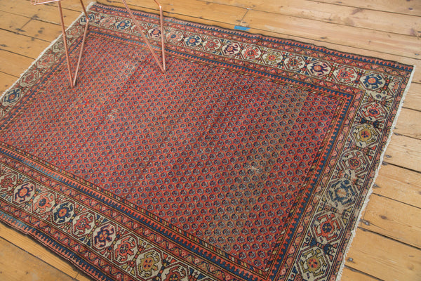 4.5x6 Vintage Hamadan Rug - Old New House