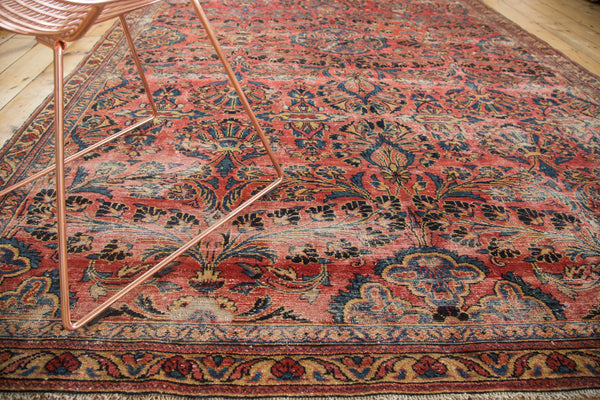 6.5x10 Vintage Lilihan Carpet - Old New House