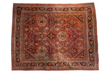 Vintage Persian Mahalati Carpet