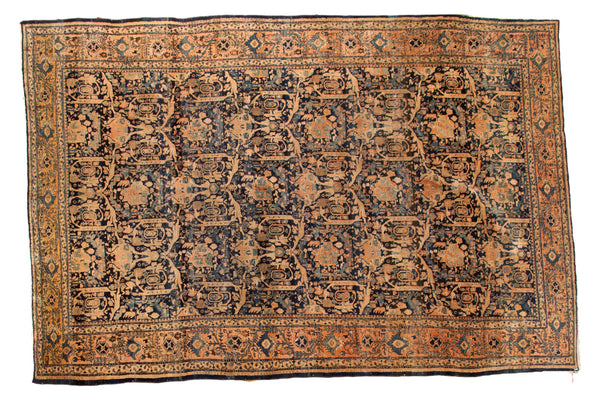 Vintage Persian Fine Meshed Carpet