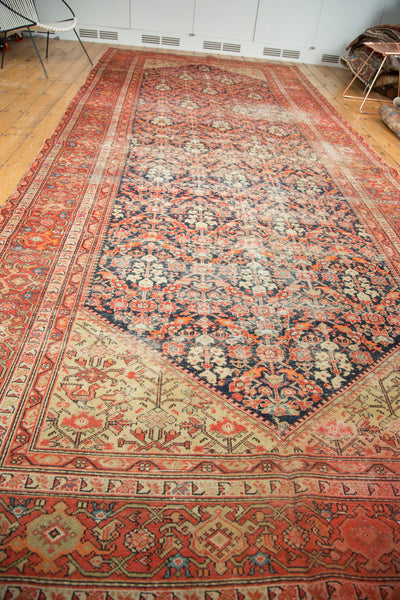 6.5x17 Antique Malayer Gallery Rug Runner - Old New House