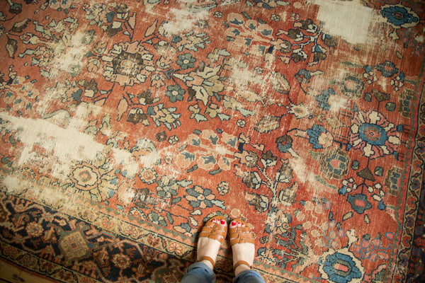 Distressed Mahal Carpet / Item sm001229 image 2
