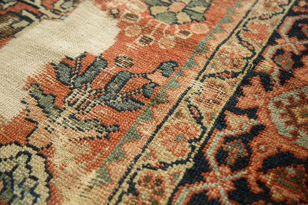 Distressed Mahal Carpet / Item sm001229 image 6