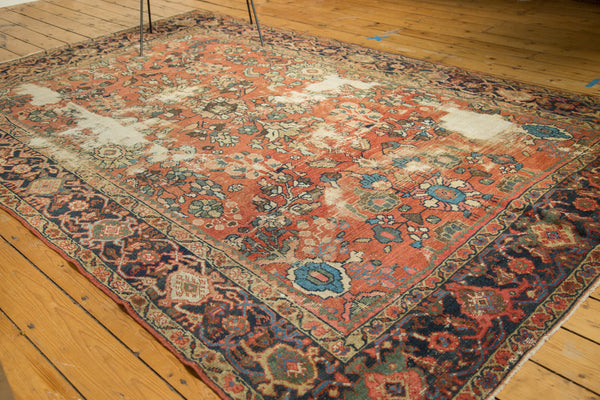 Distressed Mahal Carpet / Item sm001229 image 8