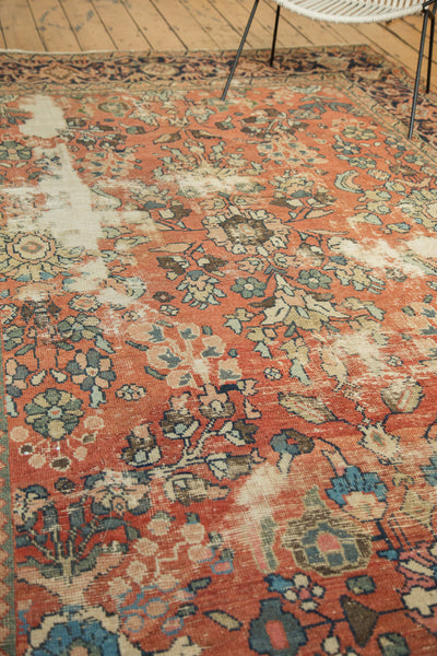 Distressed Mahal Carpet / Item sm001229 image 9