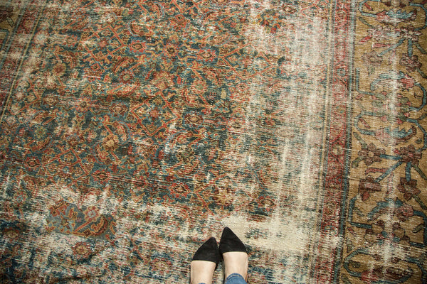 Distressed Mahal Carpet / Item sm001230 image 2
