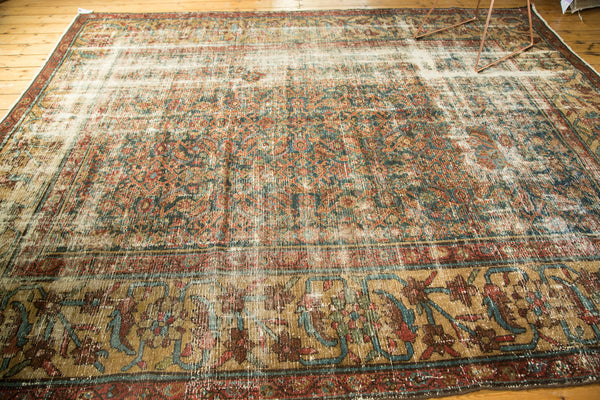 Distressed Mahal Carpet / Item sm001230 image 5