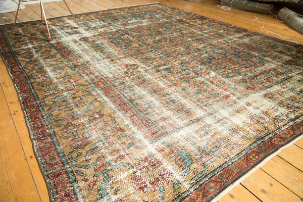 Distressed Mahal Carpet / Item sm001230 image 6