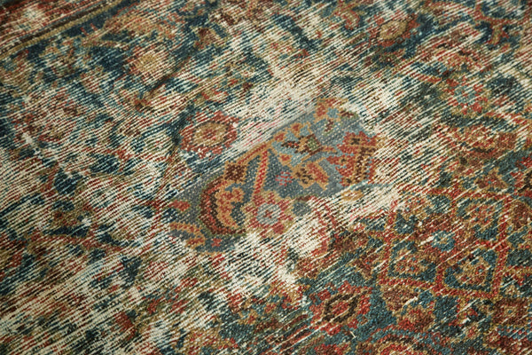 Distressed Mahal Carpet / Item sm001230 image 9