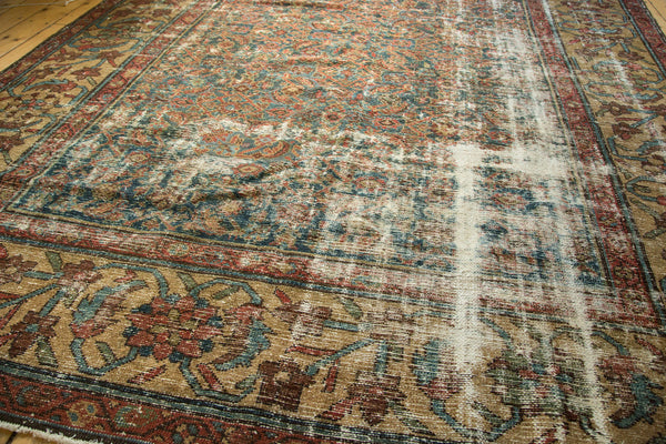 Distressed Mahal Carpet / Item sm001230 image 13