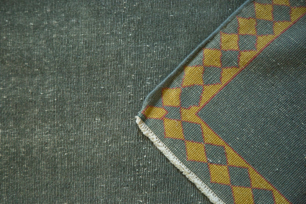 Distressed Indo Arts And Crafts Square Carpet
