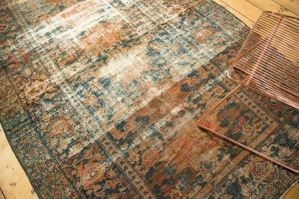 Distressed Hamadan Carpet