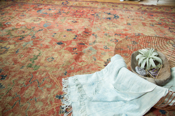 Antique Mahal Carpet / Item sm001240 image 4