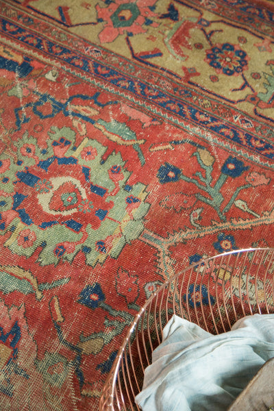 Antique Mahal Carpet / Item sm001240 image 7