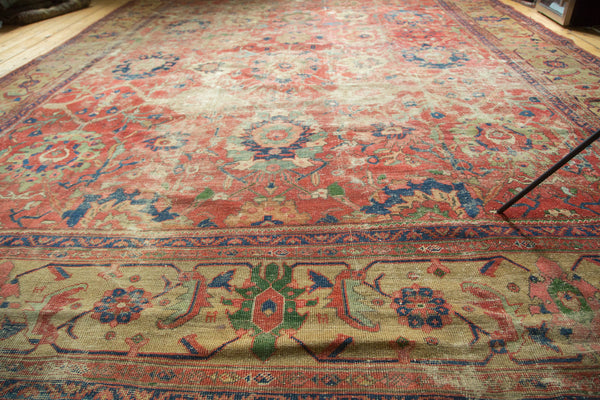 Antique Mahal Carpet / Item sm001240 image 11