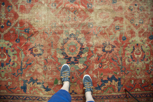 Antique Mahal Carpet / Item sm001240 image 12