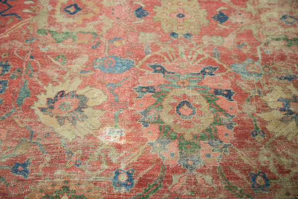 Antique Mahal Carpet / Item sm001240 image 13