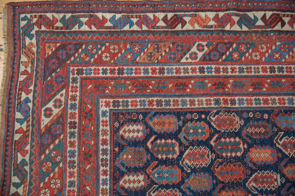 Antique Afshar Square Carpet / Item sm001316 image 3