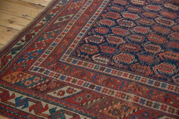 Antique Afshar Square Carpet / Item sm001316 image 9